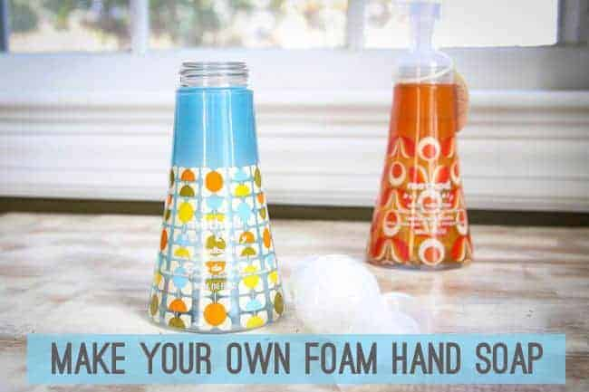 make your own foam hand soap