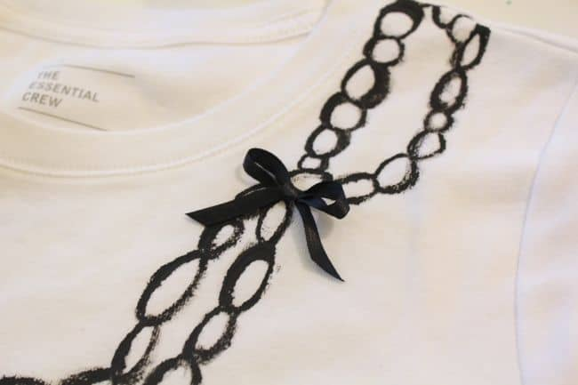Painted Necklace Shirt