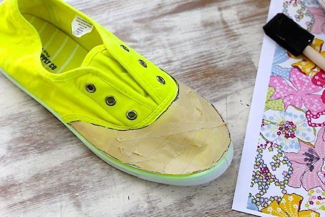 Canvas Shoes Tutorial