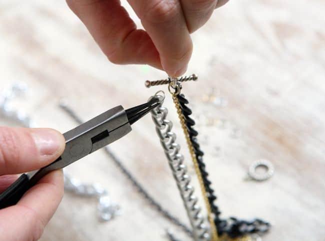 Chain Link Bracelet diy