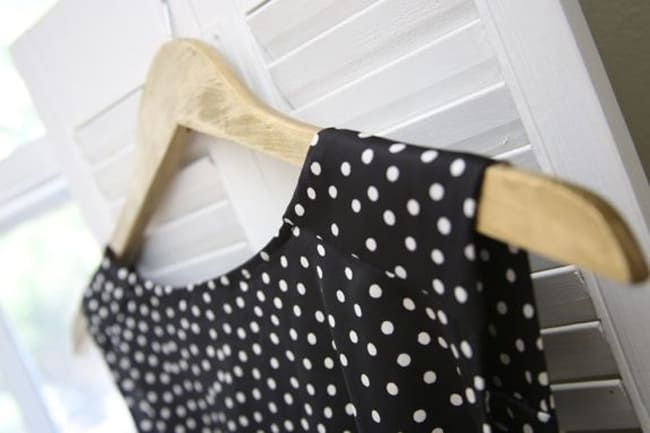DIY Gold Hangers