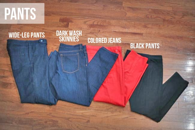 Closet Basics - Pants