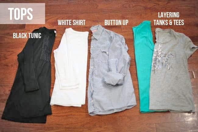 Closet Basics - Tops