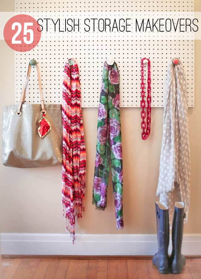 25 Stylish DIY Storage Makeovers