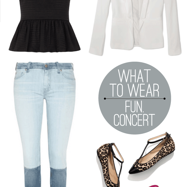 An Outfit for a Rock Concert