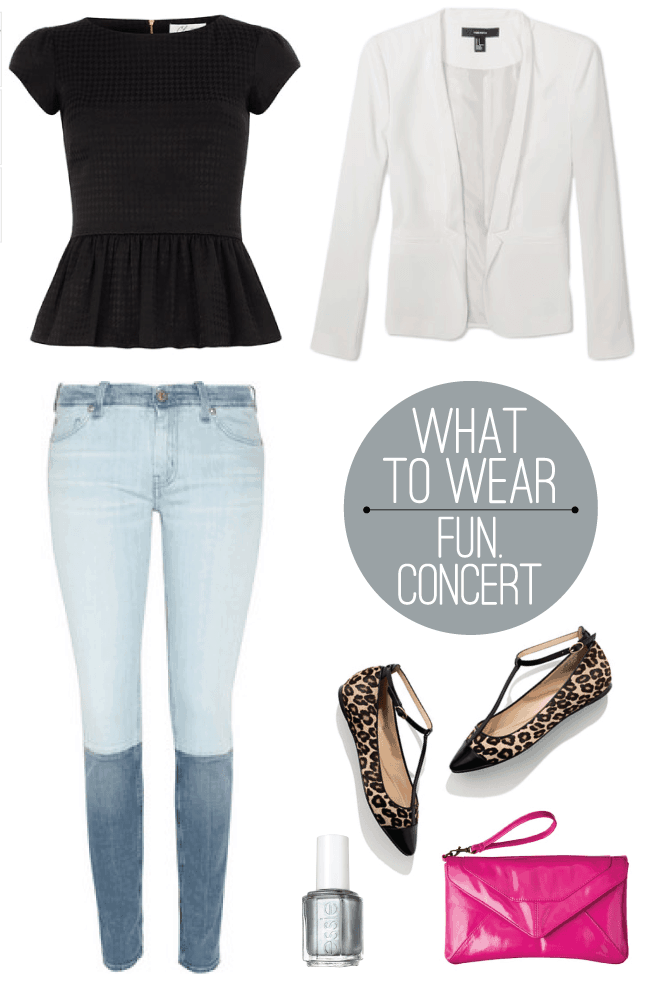wear rock concert