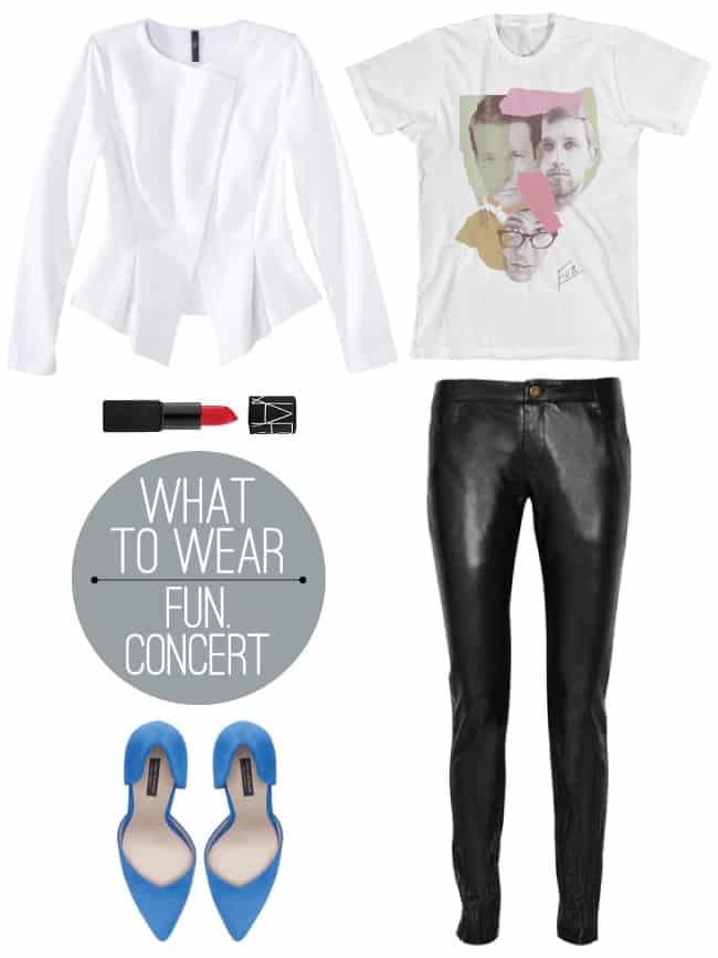 leather leggings rock concert uniform