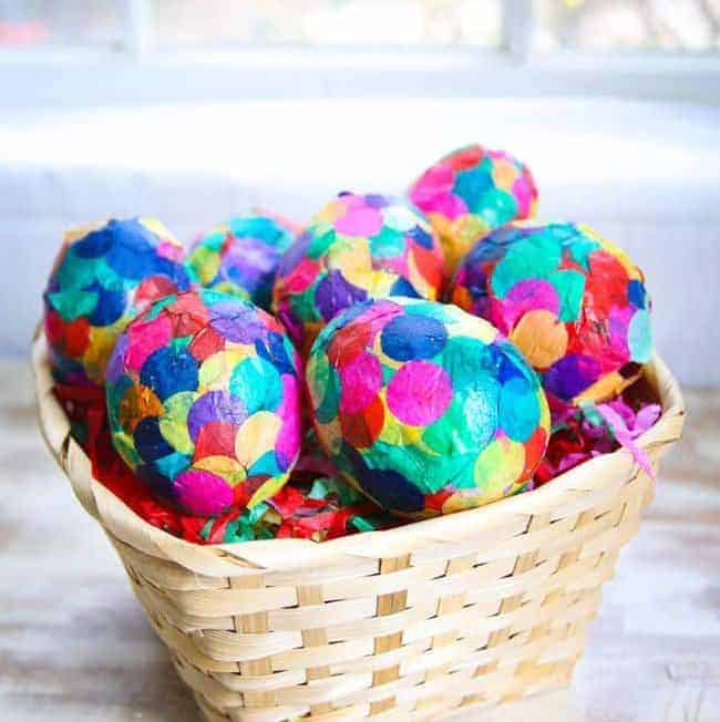 DIY Confetti Eggs | Hello Glow