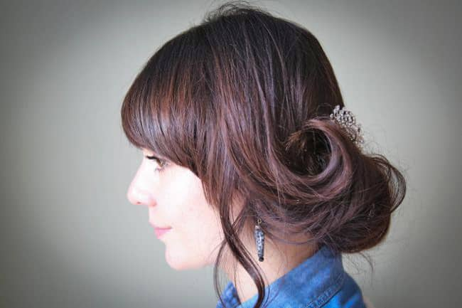 Brooch Hair Comb