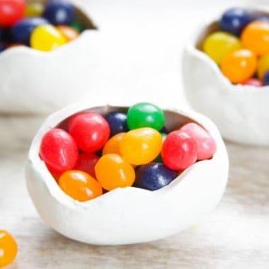 DIY Oven Bake Clay Eggs