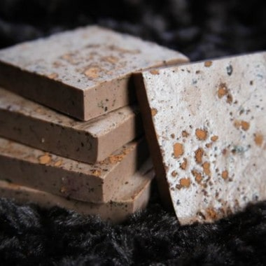 How to Make Homemade Cocoa Mint Soap