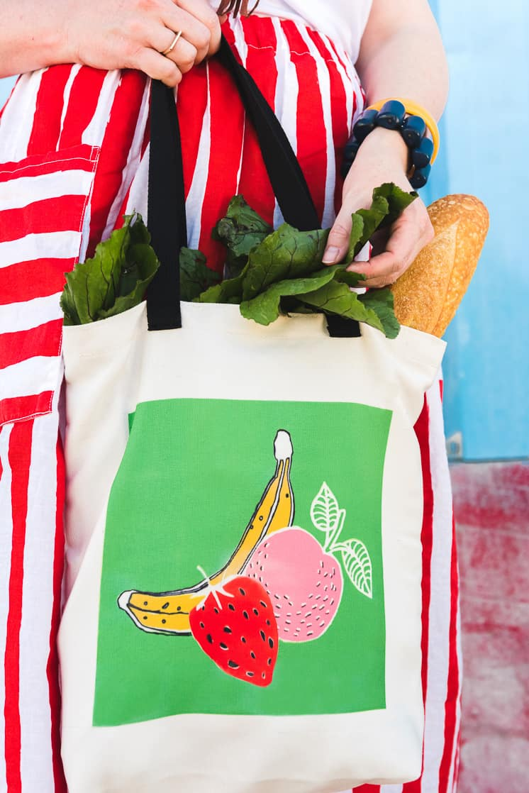 Farmer's Market Tote from The House That Lars Built