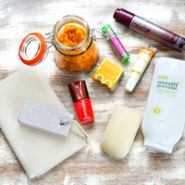 DIY: Green Beauty Basket + The Most Beautiful Person I Know