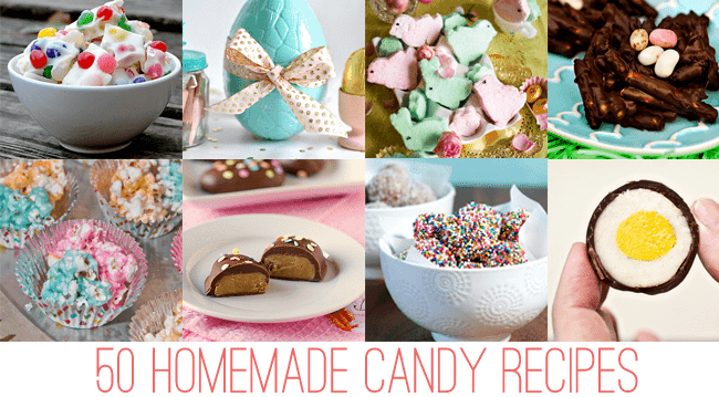 50 Homemade Candy Recipes