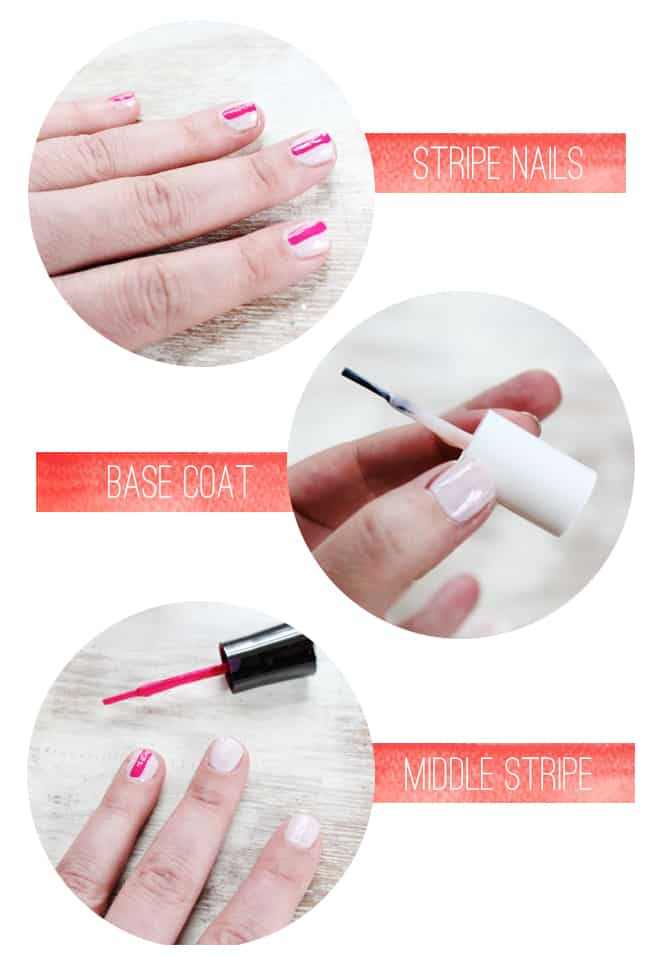 Stripe Manicure | Spring Nail Ideas