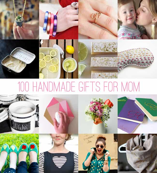100 handmade gifts for mom
