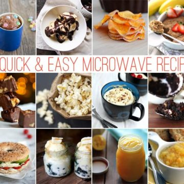 12 Microwave Recipes
