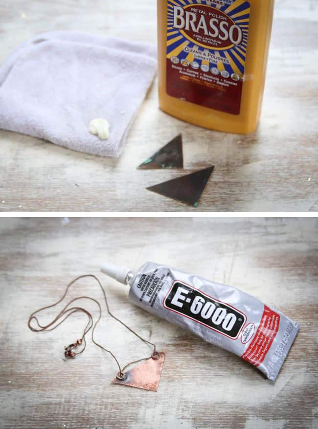 DIY Necklace with Copper