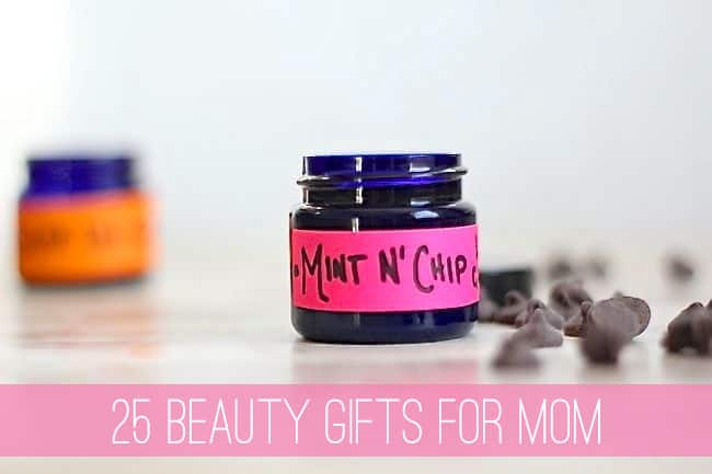 25 Homemade Beauty Gifts