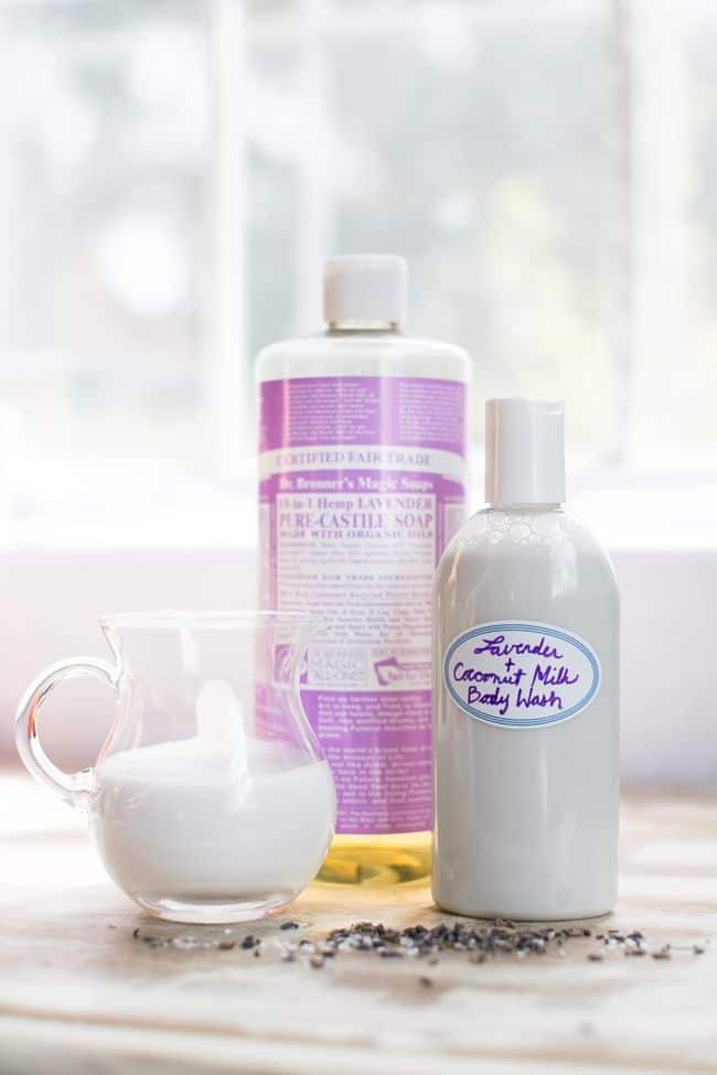 Lavender Coconut Milk Body Wash | 11 Ways to Made Homemade Body Wash