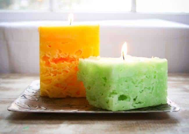 Recycle Old Candles and Make Ice Candles