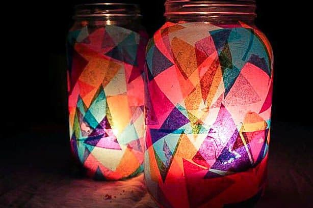 DIY Lantern Jars | HelloGlow.co