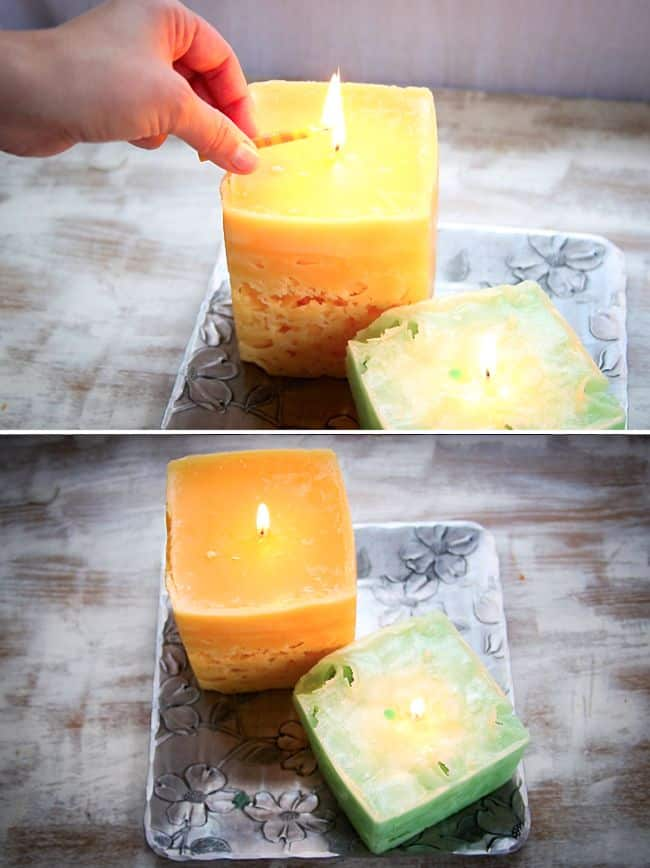 How to make ice candles