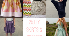 25 DIY Skirts + Dresses