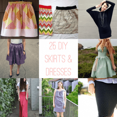 25 DIY Dresses and Skirts for Spring and Summer