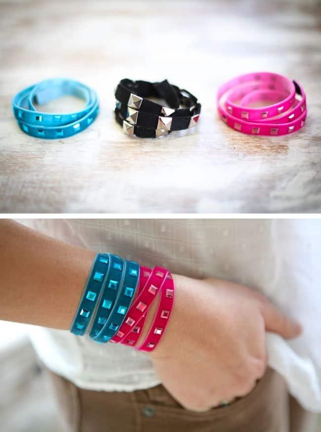 DIY Trim Wrap Bracelet - Hello Glow
