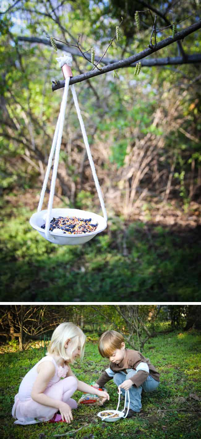 DIY Clay  Birdfeeder - Henry Happened