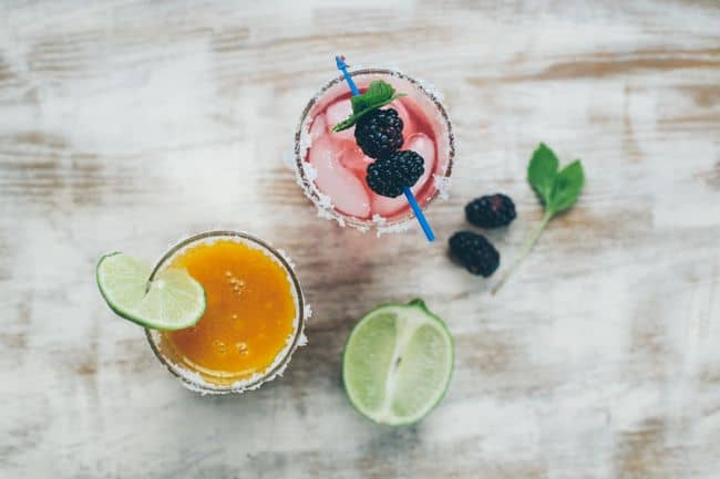 Margarita recipe with mango and blackberry | Henry Happened