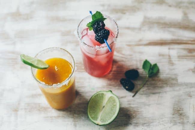 Blackberry & Mango Mint Margaritas | Henry Happened