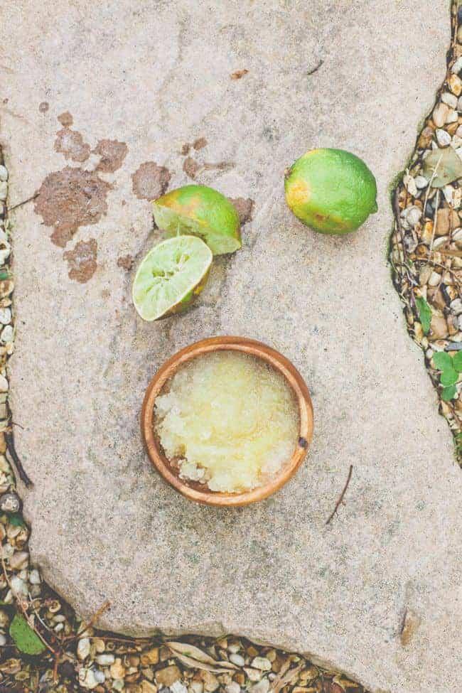 How To Make a Margarita Body Scrub | HelloGlow.co
