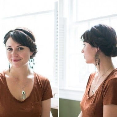 2-Minute Updo Tutorial