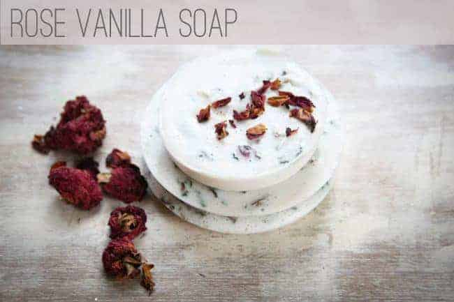 Rose Vanilla Soap | Hello Glow
