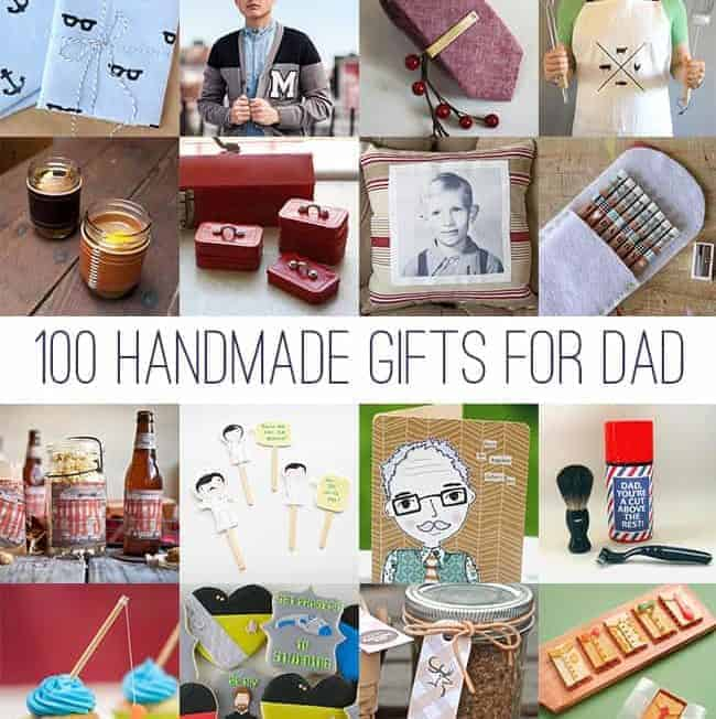 100 Handmade Gifts For Dad | HelloGlow.co
