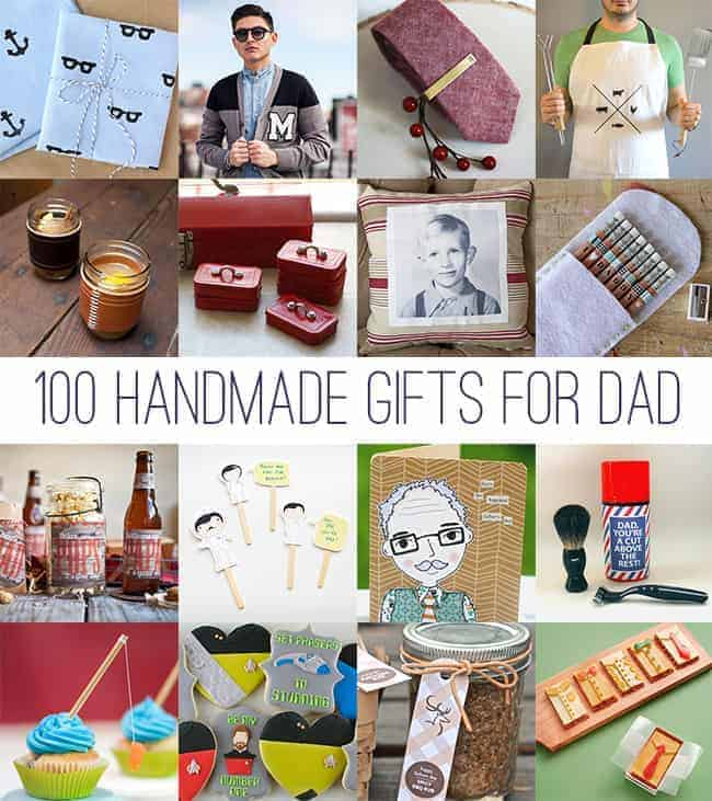 100 Handmade Gifts For Dad
