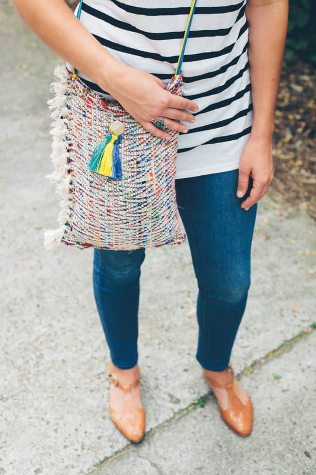 DIY Tote from a Placemat | Hello Glow