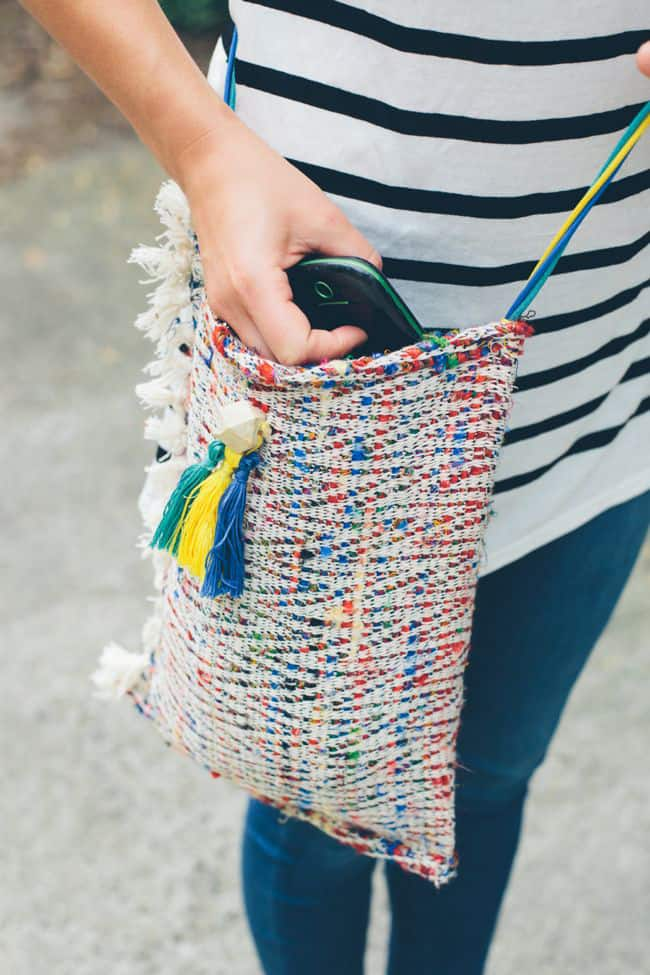 Crossbody Tote DIY