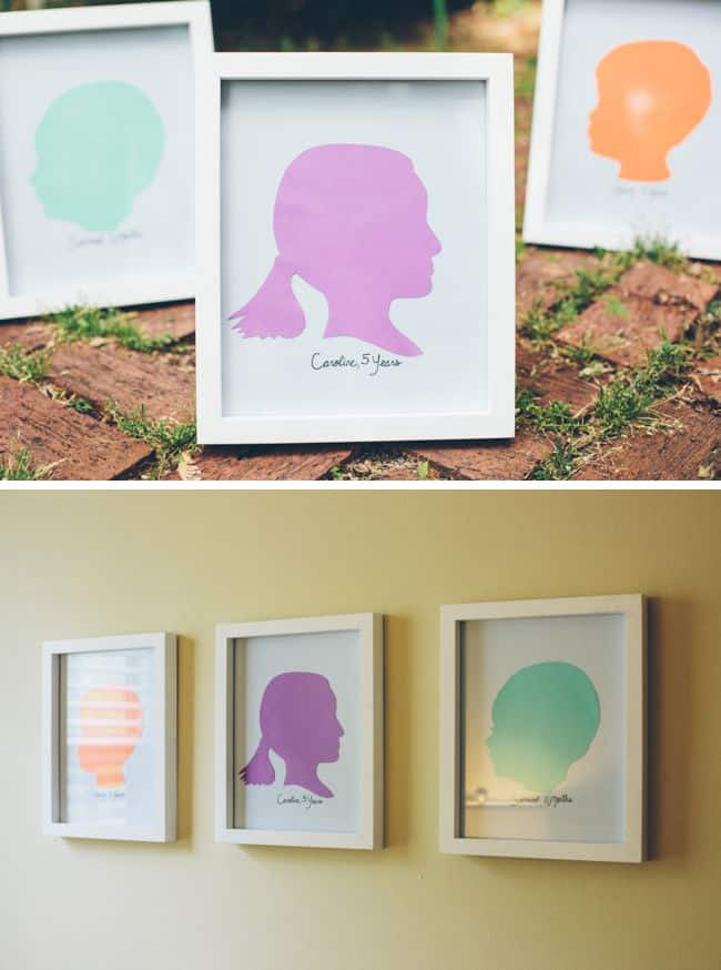 Easy DIY Silhouettes | Henry Happened