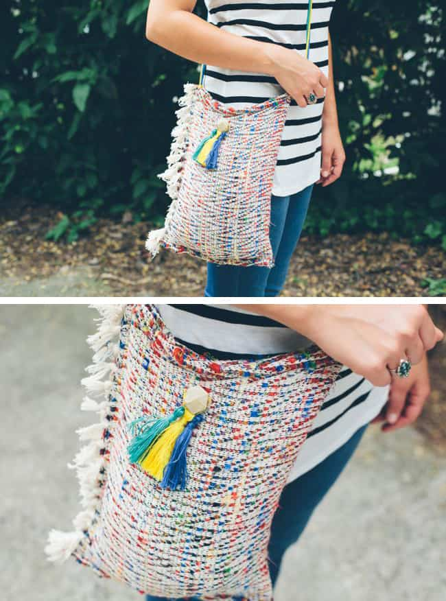DIY Crossbody Tote | Hello Glow