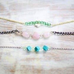 DIY Delicate Beaded Bracelets