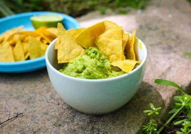Skinny Guacamole recip
