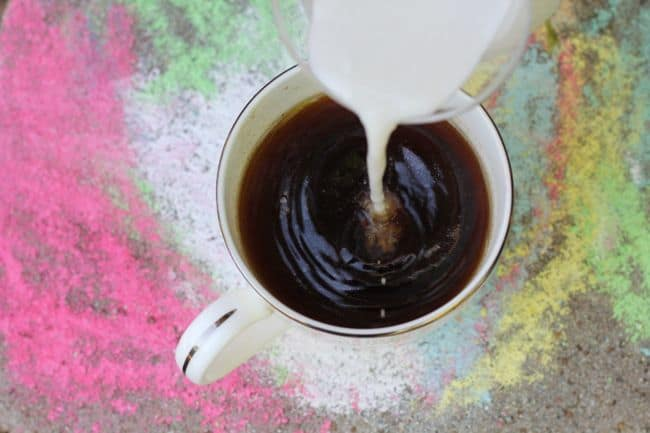 Almond Milk Coffee Creamer
