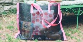 DIY Beach Bag