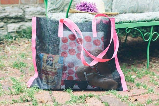 DIY Beach Bag | 11 DIY Bags for All Your Needs