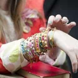 DIY Studded Leather Bracelets
