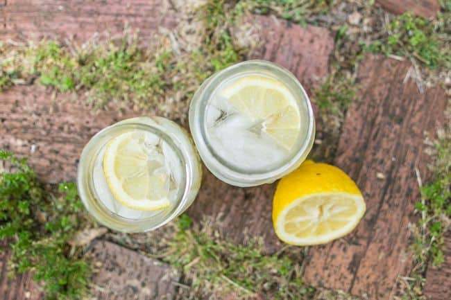 Ginger Fizz with Bourbon