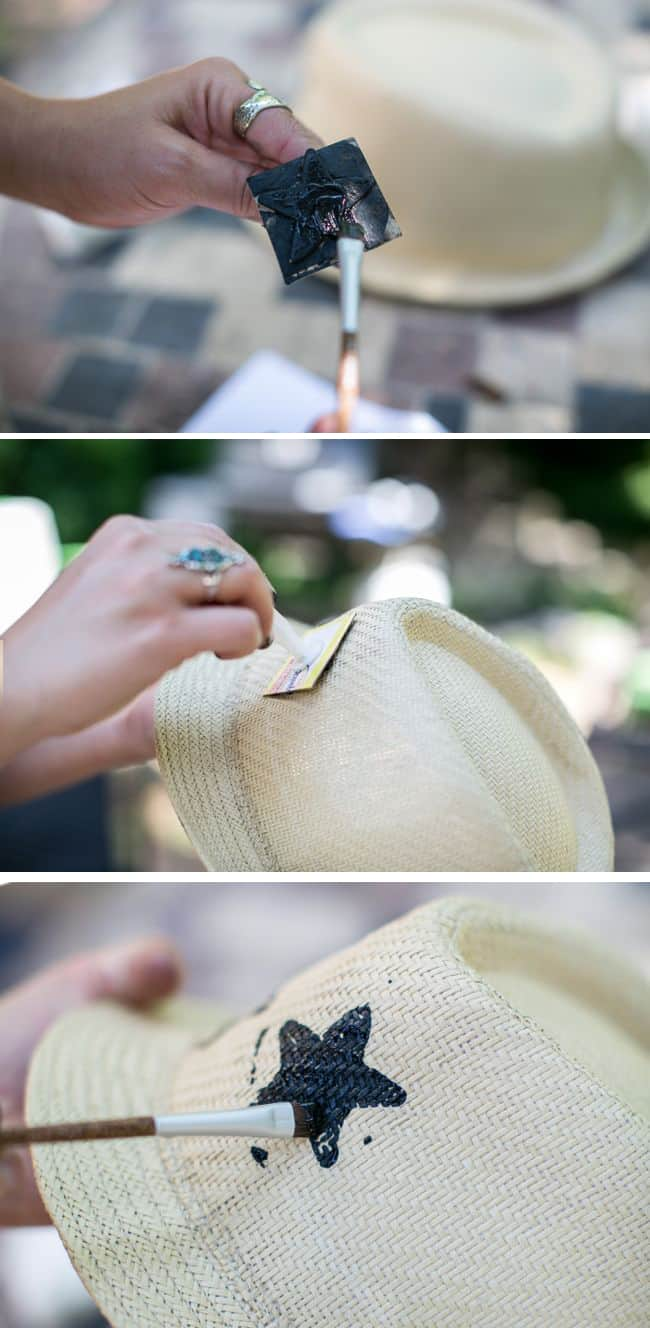 How to make a star fedora